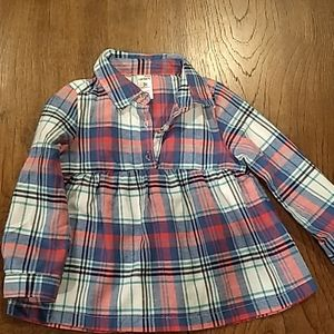 Carter's 3T flannel shirt